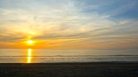 Beautiful moody sunrise Stock Photos