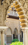 Beautiful moorish architecture Stock Photo