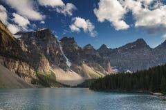 Beautiful Moraine Lake Stock Photos