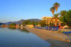 Beautiful morning beach Royalty Free Stock Image