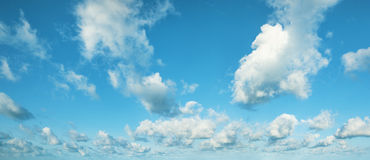Beautiful morning cloudscape Stock Image