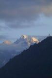 Beautiful morning at kheer ganga in himachal pradeah Royalty Free Stock Images