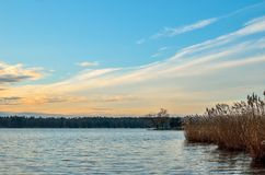 Beautiful morning landscape. Royalty Free Stock Photo
