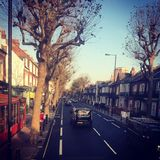 A beautiful morning in London. A good day in London with a very good weather Royalty Free Stock Images