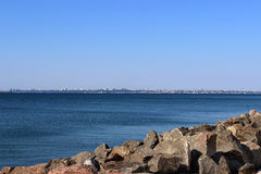 Beautiful morning seascape. Royalty Free Stock Photography