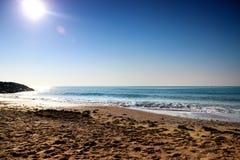 Beautiful morning seascape. Stock Photo