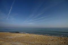 Beautiful morning under blue sky. In Turkey stock photos