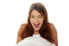 Beautiful morning woman Stock Photo