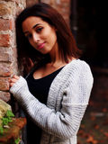 Beautiful Moroccan Girl in Padua. Stock Photos