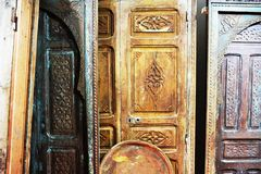 The Splendor Of Old Doors And Windows stock images