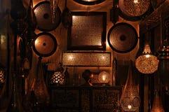 Beautiful Moroccan riad Stock Photo