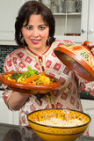 Beautiful Moroccan woman royalty free stock image