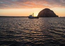 Beautiful Morro Bay Stock Photography
