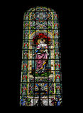 Beautiful mosaic inside a Catholic church Royalty Free Stock Images