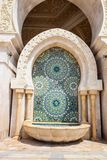 Beautiful mosaic mosque Hassan second, Casablanca,Morocco Royalty Free Stock Photography