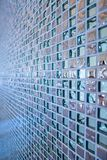 Beautiful mosaic wall. Or ceramic wall background, Thailand royalty free stock images