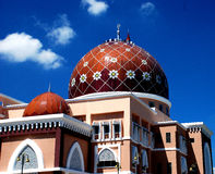 Beautiful mosque Royalty Free Stock Image
