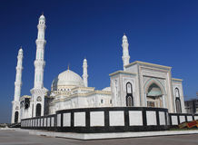 Beautiful mosque in Astana. Kazakhstan Stock Images