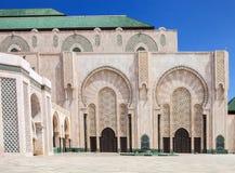Beautiful  mosque Hassan second, Casablanca, Morocco Stock Photos
