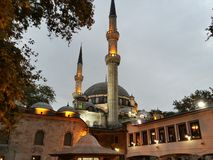 Beautiful mosque in istanbul Stock Photo