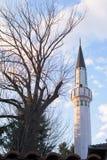 Beautiful mosque.Muslim worship place. Beautifull mosue islamic center. Otoman style architecture royalty free stock photos