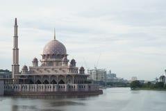 Beautiful Mosque at Putrajaya. Beautiful Mosque located at Putrajaya, Malaysia Stock Photo