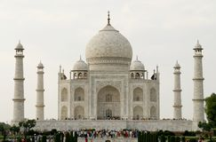Beautiful mosque Taj Mahal. Agra, India Stock Photo