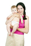 Beautiful mother and child Royalty Free Stock Photography
