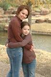 Beautiful Mother and Daughter Stock Photos
