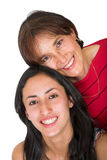 Beautiful mother and daugther Stock Photo