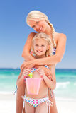 Beautiful mother with her daughter Royalty Free Stock Image