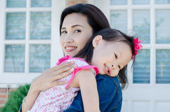 Beautiful mother with her daughter Royalty Free Stock Photo