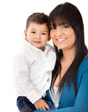 Beautiful mother and son Royalty Free Stock Photo