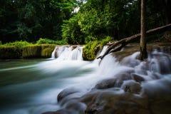 Beautiful motion waterfall Stock Image