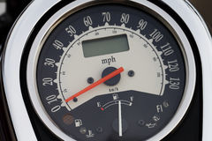 Beautiful motorcycle speedometer close-up Stock Images