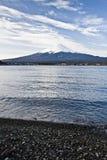 Beautiful Mount Fuji with lake, japan Stock Photos