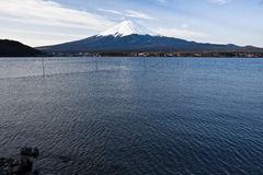 Beautiful Mount Fuji with lake, japan Stock Photos