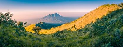 Beautiful Mount Merbabu Stock Photos