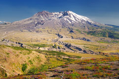 Beautiful mount st helens Stock Photos