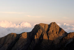 Beautiful mountain stock image
