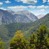 Beautiful mountain and blue sky Stock Photos