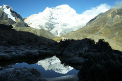 Beautiful mountain Cordilleras Royalty Free Stock Image