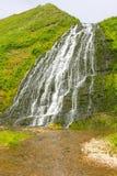 Beautiful mountain falls Royalty Free Stock Images