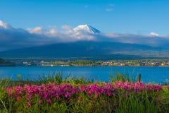 Beautiful Mountain Fuji in japan for wallpaper Stock Images