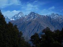 Beautiful mountain in Joshimath Royalty Free Stock Image
