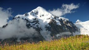 Beautiful mountain in Kavkaz Royalty Free Stock Photos