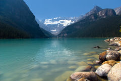 Beautiful mountain lake royalty free stock photo