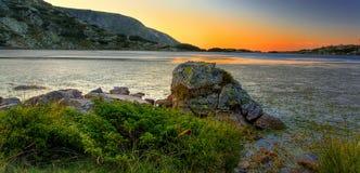 Beautiful mountain lake Royalty Free Stock Image