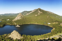 Beautiful mountain lake Royalty Free Stock Images