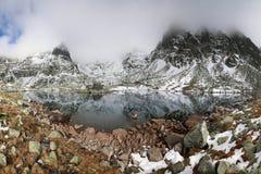 Beautiful mountain lake in High Tatras Royalty Free Stock Photos